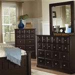 Harbor Dresser in Rich Cappuccino Finish by Coaster - 201383