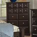Harbor Chest in Rich Cappuccino Finish by Coaster - 201385