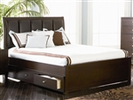 Lorretta Storage Bed in Deep Brown Finish by Coaster - 201511Q
