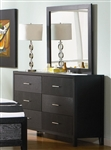 Grove Dresser in Black Finish by Coaster - 201653