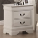 Louis Philippe Nightstand in White Finish by Coaster - 201692