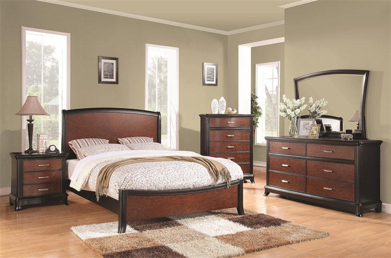 Josephina 6 Piece Bedroom Set In Two Tone Finish By Coaster 202231
