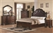 Maddison 6 Piece Bedroom Set in Warm Cappuccino Finish by Coaster - 202260
