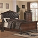 Maddison Bed in Warm Cappuccino Finish by Coaster - 202261Q