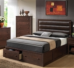 Remington Storage Bed in Cherry Finish by Coaster - 202311Q