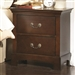Tatiana Nightstand in Warm Brown Finish by Coaster - 202392