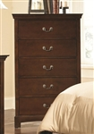 Tatiana Chest in Warm Brown Finish by Coaster - 202395