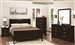 Louis Philippe 6 Piece Bedroom Set in Cappuccino Finish by Coaster - 202411