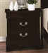 Louis Philippe Nightstand in Cappuccino Finish by Coaster - 202412