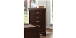 Louis Philippe Chest in Cappuccino Finish by Coaster - 202415
