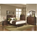 Addley Panel Bed 6 Piece Bedroom Set in Warm Brown Finish by Coaster - 202451