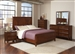 Katharine 6 Piece Bedroom Set in Cherry Finish by Coaster - 202691