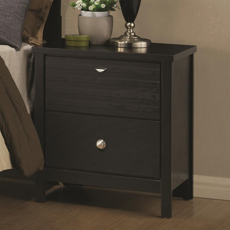 . Richmond 6 Piece Bedroom Set in Black Finish by Coaster   202721