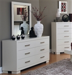 Jessica Dresser in White Finish by Coaster - 202993