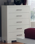 Jessica Chest in White Finish by Coaster - 202995