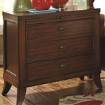 Ortiz Nightstand in Rich Cherry Finish by Coaster - 203032