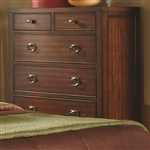 Ortiz Chest in Rich Cherry Finish by Coaster - 203035