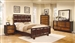 Nelson 6 Piece Bedroom Set in Two Tone Cherry Finish by Coaster - 203071