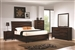 Loncar 6 Piece Bedroom Set in Java Oak Finish by Coaster - 203101