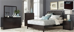 Hudson 4 Piece Youth Bedroom Set in Espresso Finish by Coaster - 203251F