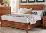 Willow Creek Storage Bed in Honey Finish by Coaster - 203371Q