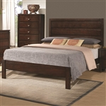 Cameron Bed in Rich Brown Finish by Coaster - 203491Q