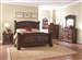 Savannah 6 Piece Bedroom Set in Burnished Cognac Finish by Coaster - 203591