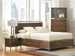 Arcadia Storage Bed in Weathered Acacia Finish by Coaster - 203801Q