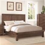 Lancashire Bed in Wire Brushed Cinnamon Finish by Coaster - 204111Q