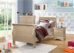 Hershel Louis Philippe Youth Bedroom Set in Metallic Champagne Finish by Coaster - 204421T