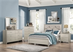 Lana 6 Piece Bedroom Set in Silver Finish by Coaster - 205181