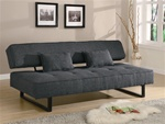 Grey Fabric Sofa Bed by Coaster - 300137