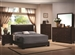 Conner 6 Piece Bedroom Set in Dark Walnut Finish with Faux Marble Tops by Coaster - 300261