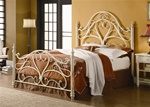 Queen Bed in Off White Finish by Coaster - 300264Q