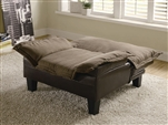 Brown Two Tone Chair Bed by Coaster - 300303