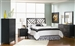 Grove 4 Piece Bedroom Set in Black Finish by Coaster - 300370