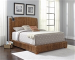 Laughton Woven Banana Leaf Bed by Coaster - 300501Q