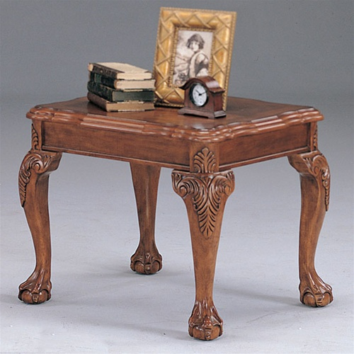 Ball And Claw End Table By Coaster 3073