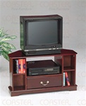 Cherry Finish TV Stand by Coaster - 3421