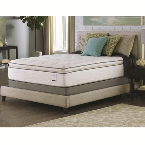 bali pillow top california king size mattress 15 inch by coaster 350027kw. Black Bedroom Furniture Sets. Home Design Ideas