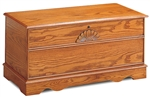 Cedar Chest in Oak Finish by Coaster - 4695