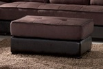 Jefferson Ottoman in a Two Tone Finish by Coaster - 500695