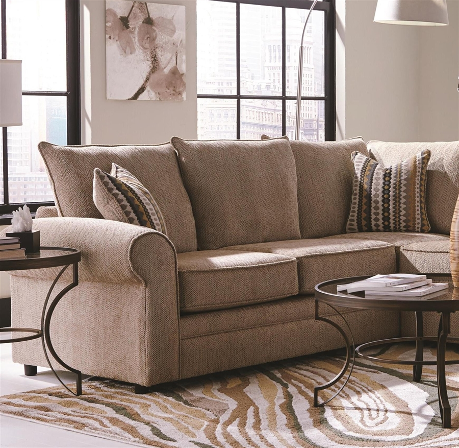 Palisades II 4 Piece Chenille Sectional by Coaster : COA 501001 4 from www.homecinemacenter.com size 530 x 600 jpeg 170kB