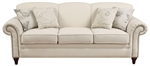 Norah Oatmeal Linen Fabric Sofa by Coaster - 502511