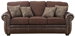 Florence Sofa in Tri-Tone Browns by Coaster - 504041