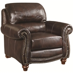 Lockhart Chair in Brown Leather by Coaster - 504693