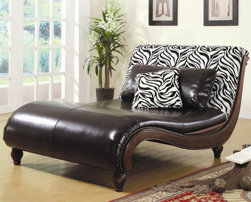 : animal print chaise lounge - Sectionals, Sofas & Couches