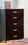 Stuart Chest in Rich Cappuccino Finish by Coaster - 5635