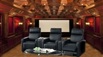 Executive 5 Piece Black Theater Seating - 60018