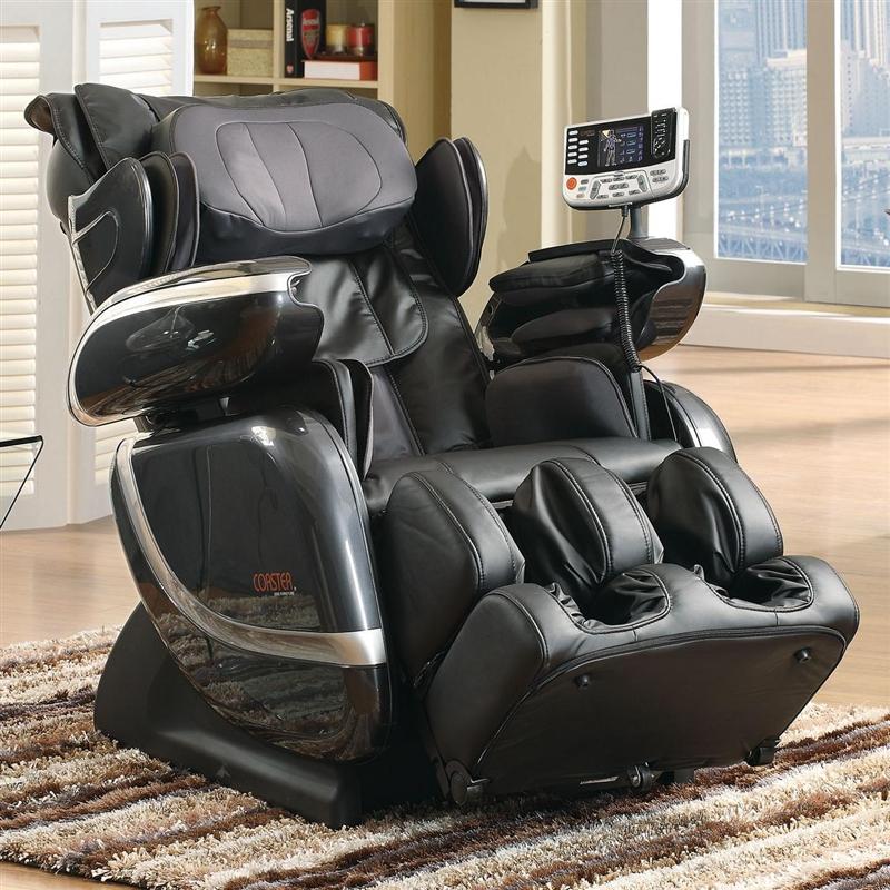 cozzia cz810 zero gravity massage chair black coa610003 - Zero Gravity Massage Chair